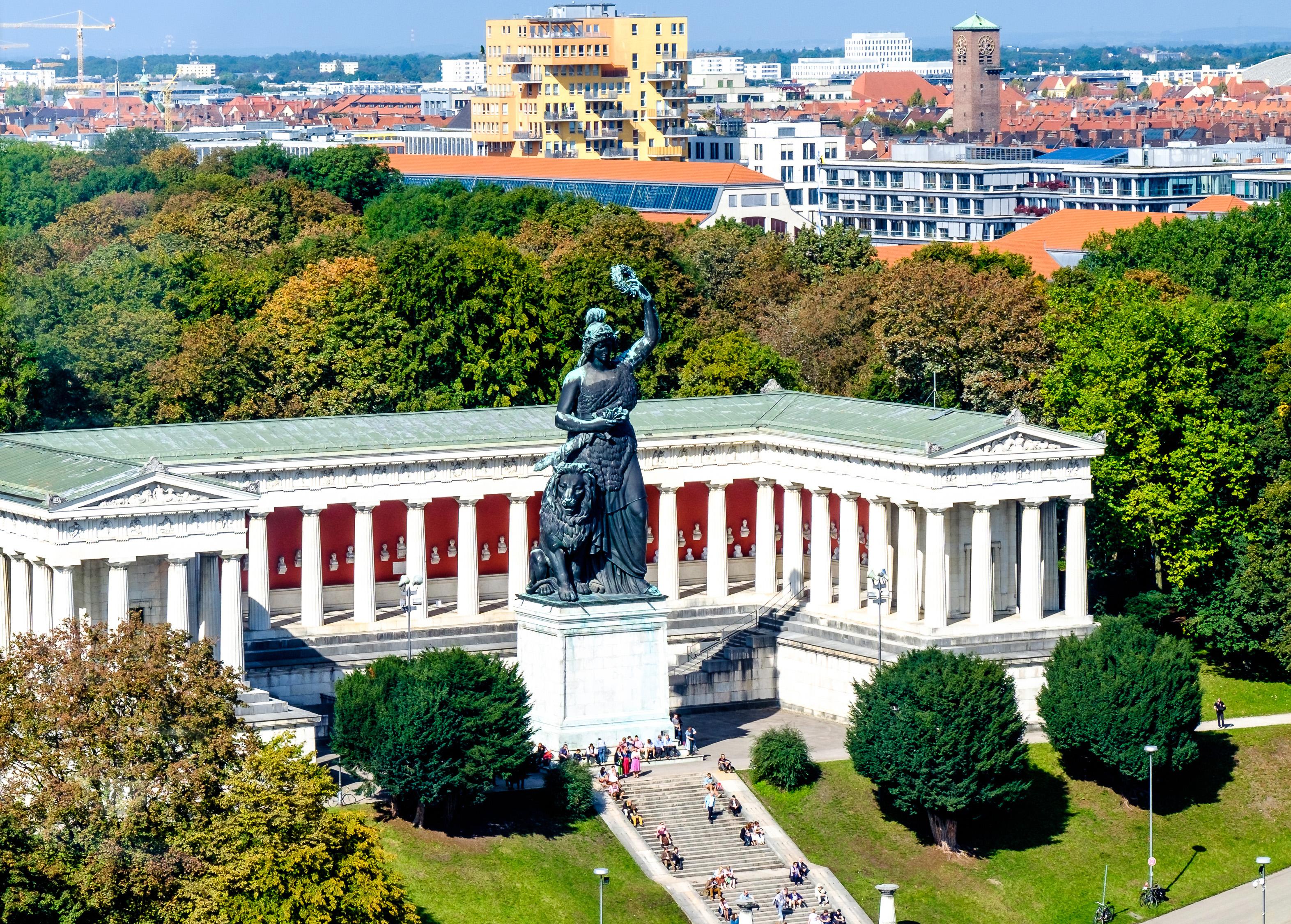 Bavaria Statue an der Theresienwiese